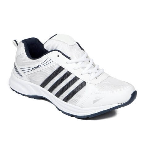 Free Feet White Running Sports Shoes