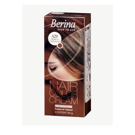 Berina Hair Color Cream A29 Medium Chocolate