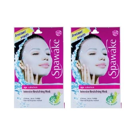 Spawake Age Solution sheet Mask pack of two