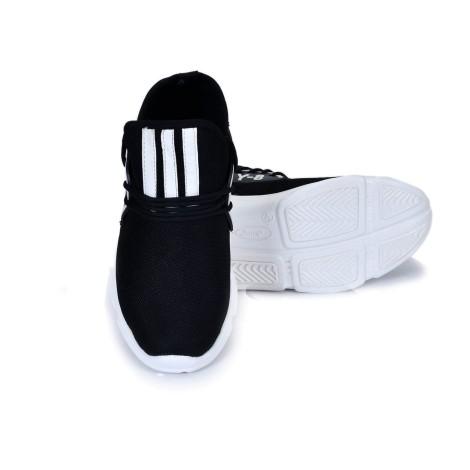 Free Feet Black Running Shoes