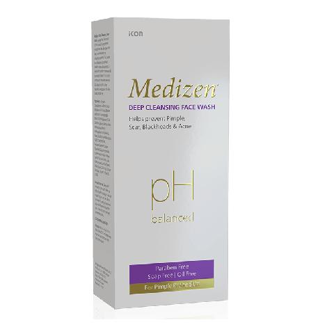 Medizen Deep Cleasing Face Wash 100ml
