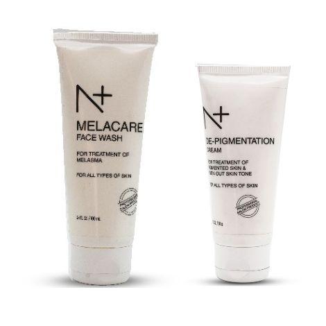 N plus melacare face wash with pigment cream combo