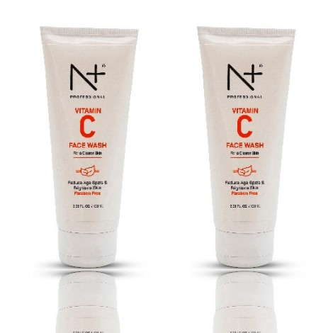 N Plus Vitamin C Face Wash 100ml pack of two