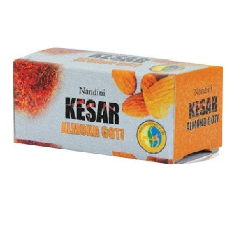 Nandini herbal kesar almond goti set of 10