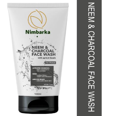 Nimbarka Neem & Charcoal Face wash 100ml