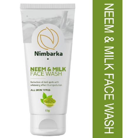 Nimbarka Neem and Milk Face wash 85g