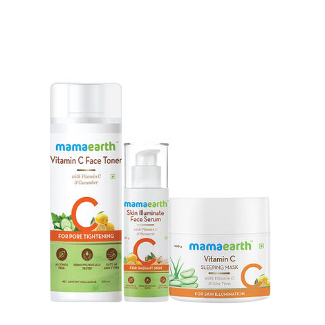 Mamaearth Vitamin C Daily Routine Kit