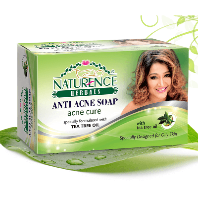 Naturence Herbal anti acne soap 75gm
