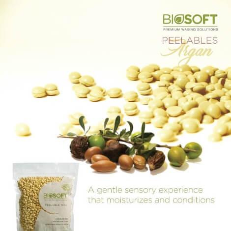 Biosoft Peelable wax Argan