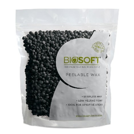 Biosoft Peelable wax Charcoal