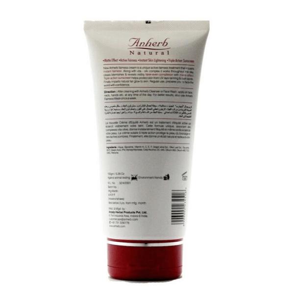 Anherb Natural instant fairness cream 150g
