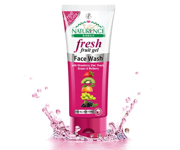Naturence Herbal Fresh Fruit Gel (Face Wash)