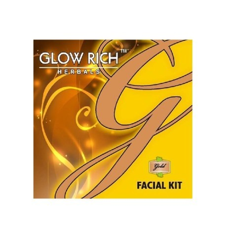 Glow rich gold facial kit