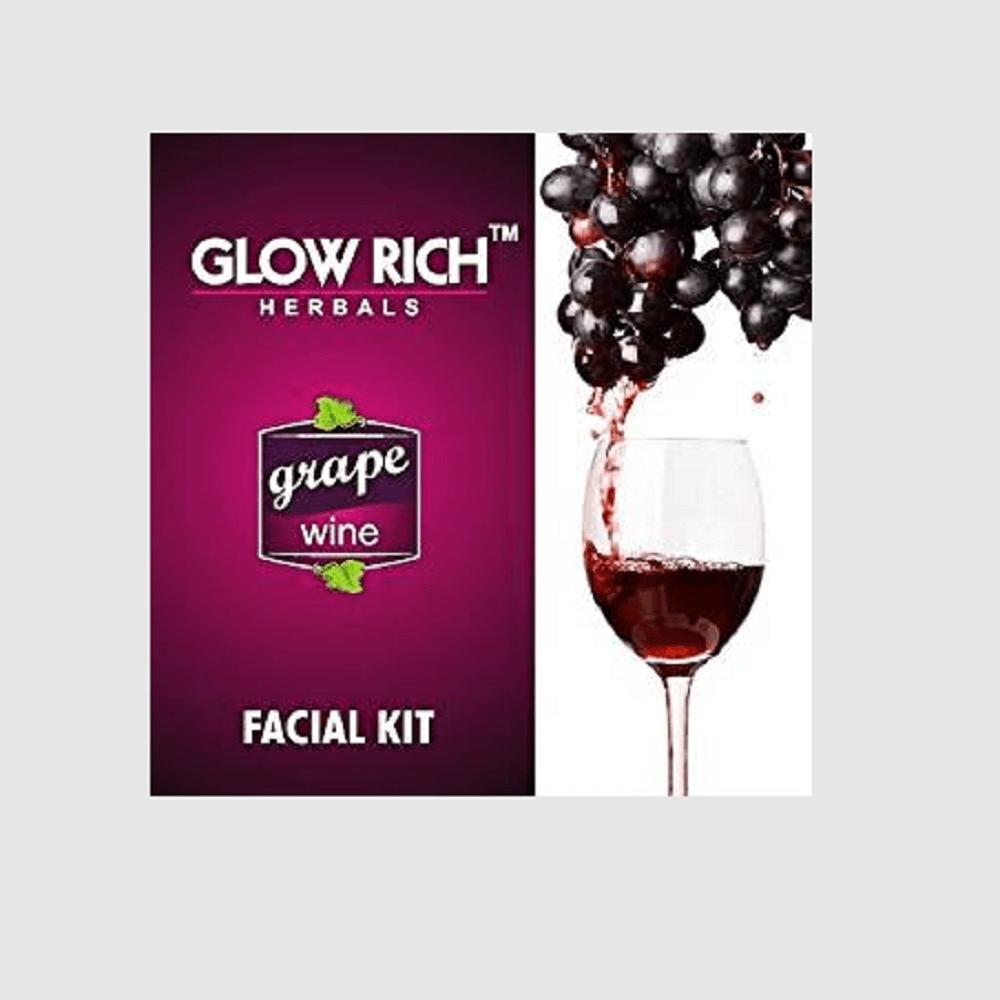 Glow rich Grape wine facial kit