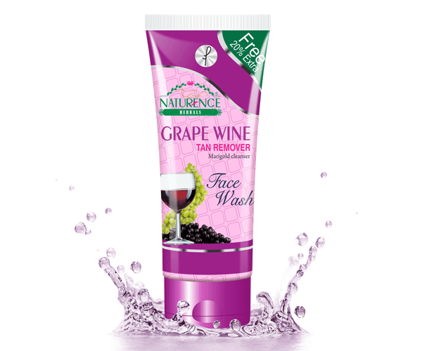 Naturence herbal Grape Wine (Face Wash)