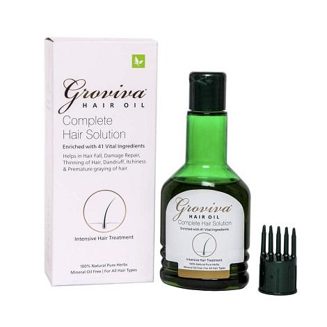 Groviva Hair fall control oil 100ml pack of 2