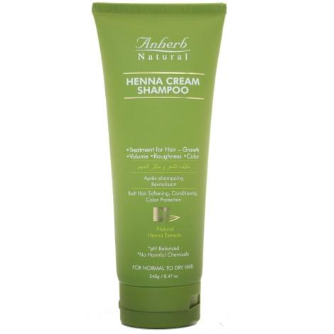 Anherb Natural Henna Cream Shampoo (240g)