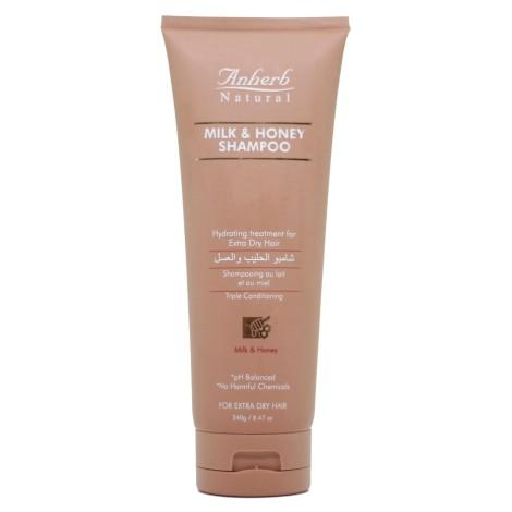 Anherb Natural milk and honey shampoo 240g