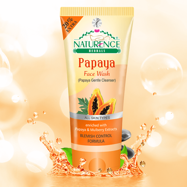 Naturence Herbal Papaya (Face Wash)