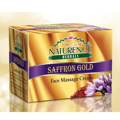 Naturence herbal Saffron gold massage cream 450gm