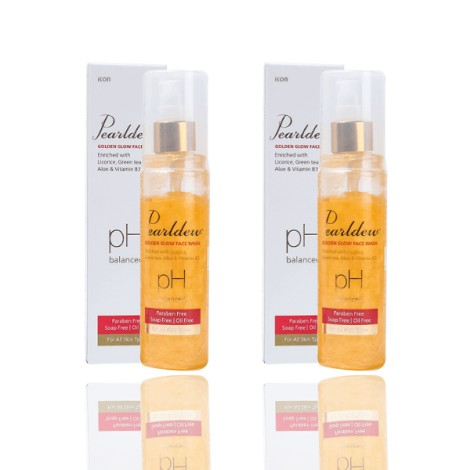 Pearldew Golden Glow Face Wash set of 2