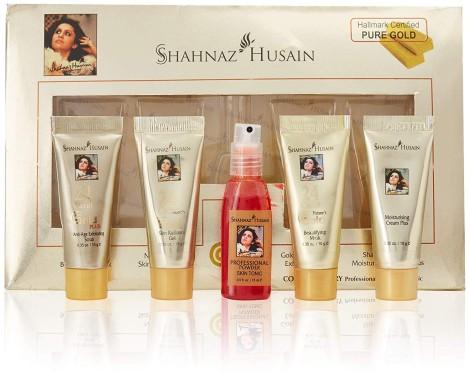 Shahnaz Husain Gold Skin Radiance Timeless Youth 10gx4 Kit