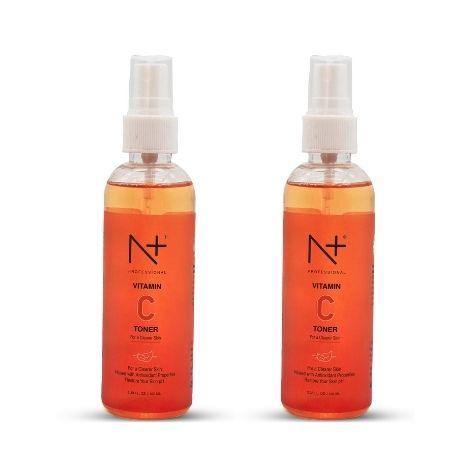 N plus Vitamin c face toner 100ml pack of two