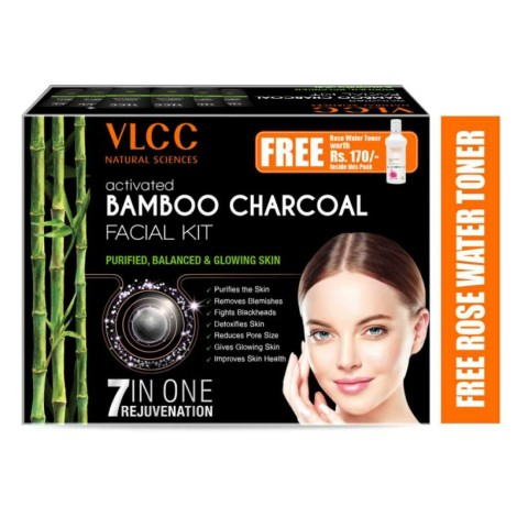 ACTIVATED BAMBOO CHARCOAL FACIAL KIT (5 SESSIONS)
